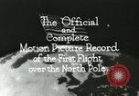 Image of Polar expedition North Pole, 1926, second 13 stock footage video 65675063324