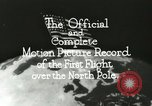 Image of Polar expedition North Pole, 1926, second 14 stock footage video 65675063324