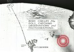 Image of Animated map of flight course North Pole, 1926, second 20 stock footage video 65675063333