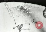 Image of Animated map of flight course North Pole, 1926, second 22 stock footage video 65675063333