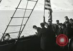 Image of Byrd congratulated for flight over the North Pole Spitsbergen Norway, 1926, second 28 stock footage video 65675063336