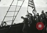 Image of Byrd congratulated for flight over the North Pole Spitsbergen Norway, 1926, second 29 stock footage video 65675063336