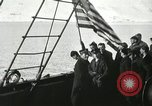 Image of Byrd congratulated for flight over the North Pole Spitsbergen Norway, 1926, second 30 stock footage video 65675063336