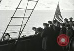 Image of Byrd congratulated for flight over the North Pole Spitsbergen Norway, 1926, second 33 stock footage video 65675063336