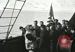 Image of Byrd congratulated for flight over the North Pole Spitsbergen Norway, 1926, second 41 stock footage video 65675063336