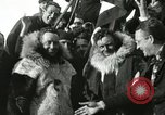 Image of Byrd congratulated for flight over the North Pole Spitsbergen Norway, 1926, second 42 stock footage video 65675063336