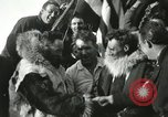Image of Byrd congratulated for flight over the North Pole Spitsbergen Norway, 1926, second 44 stock footage video 65675063336
