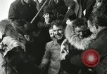 Image of Byrd congratulated for flight over the North Pole Spitsbergen Norway, 1926, second 46 stock footage video 65675063336