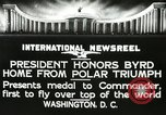 Image of Commander Richard Byrd Washington DC USA, 1927, second 14 stock footage video 65675063338
