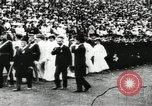 Image of Olympic events including tug-of-war and hurdling Paris France, 1900, second 20 stock footage video 65675063350