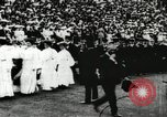Image of Olympic events including tug-of-war and hurdling Paris France, 1900, second 22 stock footage video 65675063350