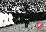 Image of Olympic events including tug-of-war and hurdling Paris France, 1900, second 23 stock footage video 65675063350