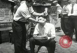 Image of American unemployed workmen New York City USA, 1932, second 55 stock footage video 65675063353
