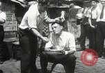 Image of American unemployed workmen New York City USA, 1932, second 57 stock footage video 65675063353