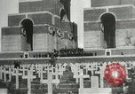 Image of ceremonies at Cenotaph Thiepval France, 1932, second 11 stock footage video 65675063354