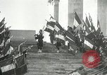 Image of ceremonies at Cenotaph Thiepval France, 1932, second 15 stock footage video 65675063354