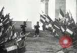 Image of ceremonies at Cenotaph Thiepval France, 1932, second 17 stock footage video 65675063354