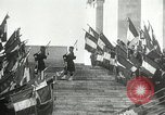 Image of ceremonies at Cenotaph Thiepval France, 1932, second 19 stock footage video 65675063354