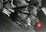 Image of ceremonies at Cenotaph Thiepval France, 1932, second 21 stock footage video 65675063354