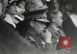 Image of ceremonies at Cenotaph Thiepval France, 1932, second 22 stock footage video 65675063354