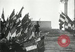 Image of ceremonies at Cenotaph Thiepval France, 1932, second 26 stock footage video 65675063354