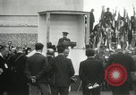 Image of ceremonies at Cenotaph Thiepval France, 1932, second 36 stock footage video 65675063354