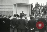 Image of ceremonies at Cenotaph Thiepval France, 1932, second 37 stock footage video 65675063354