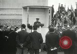 Image of ceremonies at Cenotaph Thiepval France, 1932, second 38 stock footage video 65675063354