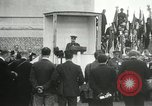 Image of ceremonies at Cenotaph Thiepval France, 1932, second 39 stock footage video 65675063354