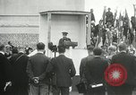 Image of ceremonies at Cenotaph Thiepval France, 1932, second 51 stock footage video 65675063354