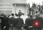 Image of ceremonies at Cenotaph Thiepval France, 1932, second 52 stock footage video 65675063354