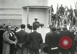 Image of ceremonies at Cenotaph Thiepval France, 1932, second 54 stock footage video 65675063354