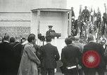 Image of ceremonies at Cenotaph Thiepval France, 1932, second 55 stock footage video 65675063354