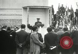 Image of ceremonies at Cenotaph Thiepval France, 1932, second 56 stock footage video 65675063354