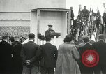 Image of ceremonies at Cenotaph Thiepval France, 1932, second 57 stock footage video 65675063354