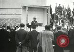 Image of ceremonies at Cenotaph Thiepval France, 1932, second 58 stock footage video 65675063354