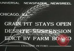 Image of Chicago Board of Trade Chicago Illinois USA, 1932, second 3 stock footage video 65675063356