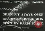 Image of Chicago Board of Trade Chicago Illinois USA, 1932, second 4 stock footage video 65675063356