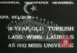 Image of Miss Universe contest Spa Belgium, 1932, second 4 stock footage video 65675063357