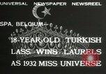 Image of Miss Universe contest Spa Belgium, 1932, second 8 stock footage video 65675063357