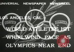 Image of 1932 Summer Olympic game highlights Los Angeles California USA, 1932, second 6 stock footage video 65675063358
