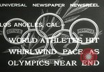 Image of 1932 Summer Olympic game highlights Los Angeles California USA, 1932, second 7 stock footage video 65675063358