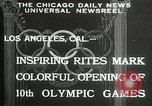 Image of Olympic games Los Angeles California USA, 1932, second 2 stock footage video 65675063359