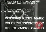 Image of Olympic games Los Angeles California USA, 1932, second 4 stock footage video 65675063359