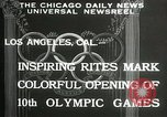Image of Olympic games Los Angeles California USA, 1932, second 6 stock footage video 65675063359