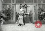 Image of Couple performing dances for camera Europe, 1913, second 17 stock footage video 65675063369