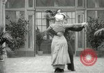 Image of Couple performing dances for camera Europe, 1913, second 25 stock footage video 65675063369
