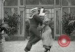 Image of Couple performing dances for camera Europe, 1913, second 42 stock footage video 65675063369