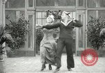 Image of Couple performing dances for camera Europe, 1913, second 50 stock footage video 65675063369