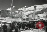 Image of Scenes from the 1948 Winter Olympic Games St. Moritz Switzerland, 1948, second 3 stock footage video 65675063372